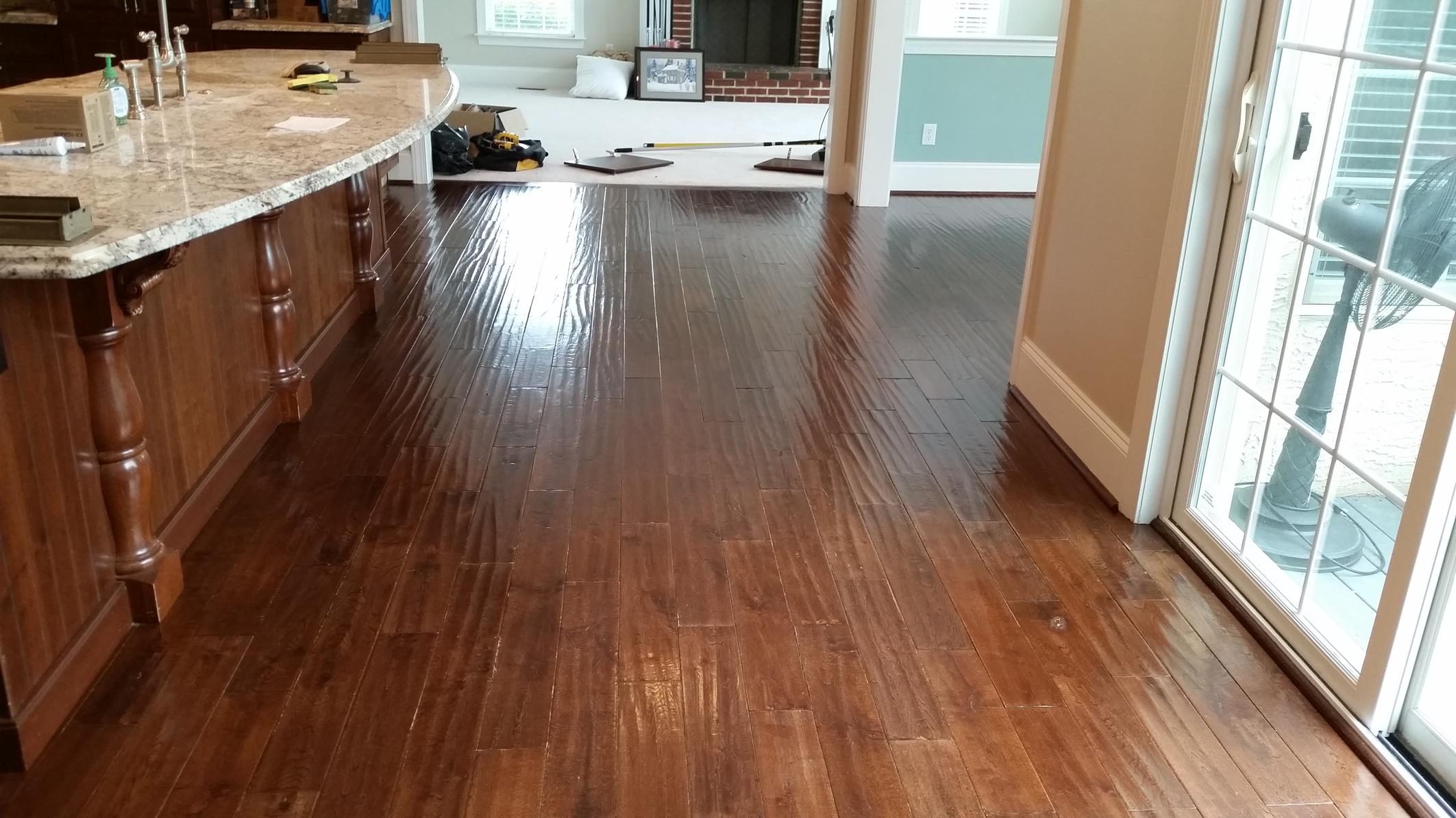 Willistown township hardwood flooring services barbati for Hardwood flooring service