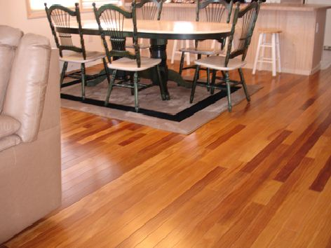 Engineered Hardwood Floating Floor Installation – Barbati